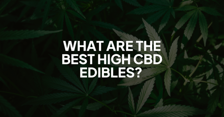 What Are The Best High CBD Edibles?